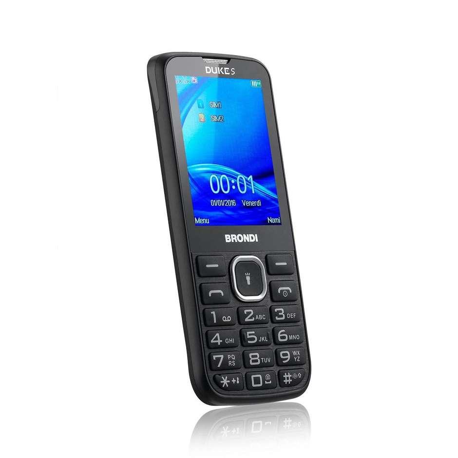 Brondi DUKE S telefono cellulare Dual sim colore Nero