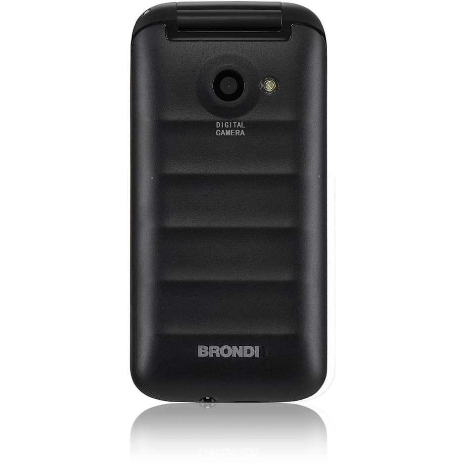 Brondi Fox Dual Sim Telefono Cellulare colore Nero