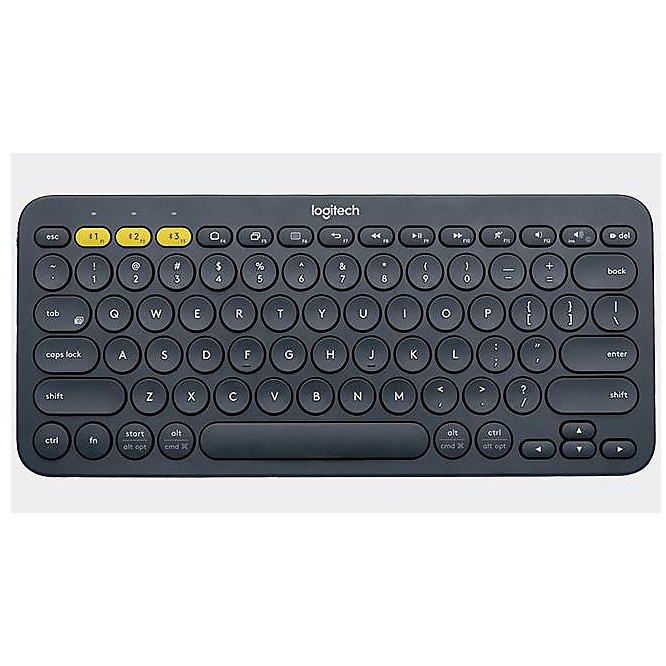 bt multi-device keybaord k380 dark
