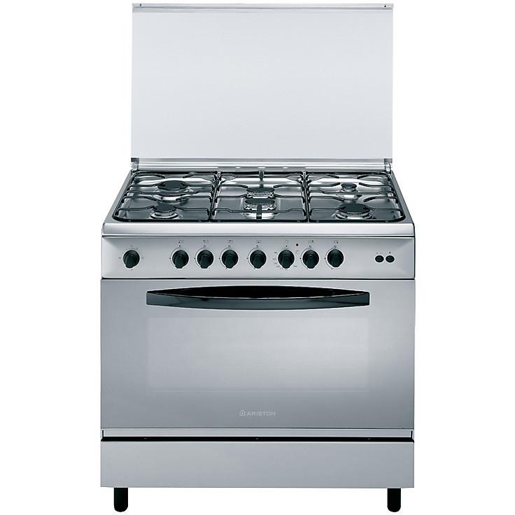 c-09sg1x ariston cucina 90x60 inox tuttoforno 6 fuochi - Cucine ...