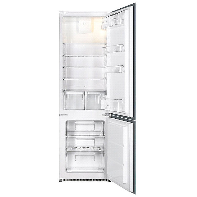 c-3170fp smeg frigorifero classe a+ 280 litri ventilato