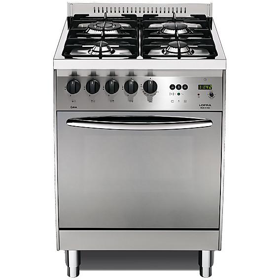 c-66gv/c lofra cucina 60x60 4 fuochi a gas inox - cucine 4 fuochi ... - Cucina Quattro Fuochi