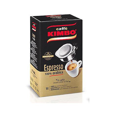 caffe' kimbo gusto arabica 18 cialde