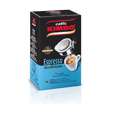 caffe' kimbo gusto decaffeinato 18 cialde