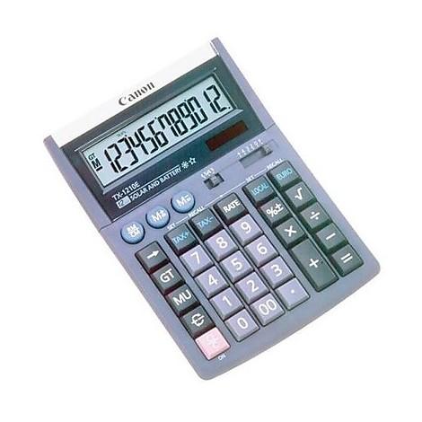 Calcolatrice canon tx 1210e