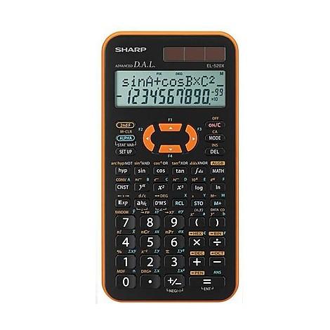 Calcolatrice el 520xb-yl - arancio