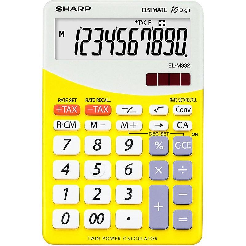 Calcolatrice el m332 byl