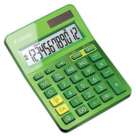 Calcolatrice ls-123k-metallic green