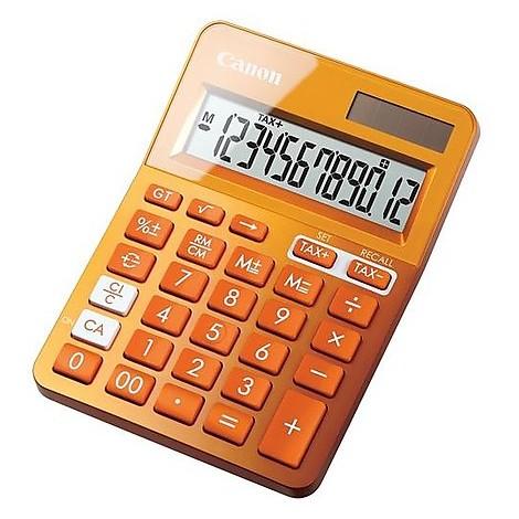 Calcolatrice ls-123k-metallic orange