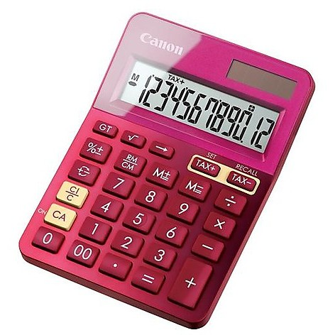 Calcolatrice ls-123k-metallic pink