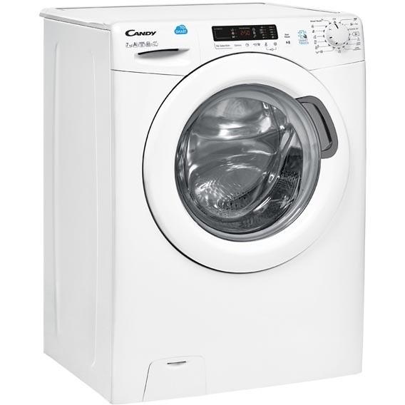 Candy CS4 1272D3/1-S lavatrice 40 cm carica frontale 7 Kg 1200 giri classe A+++ colore bianco