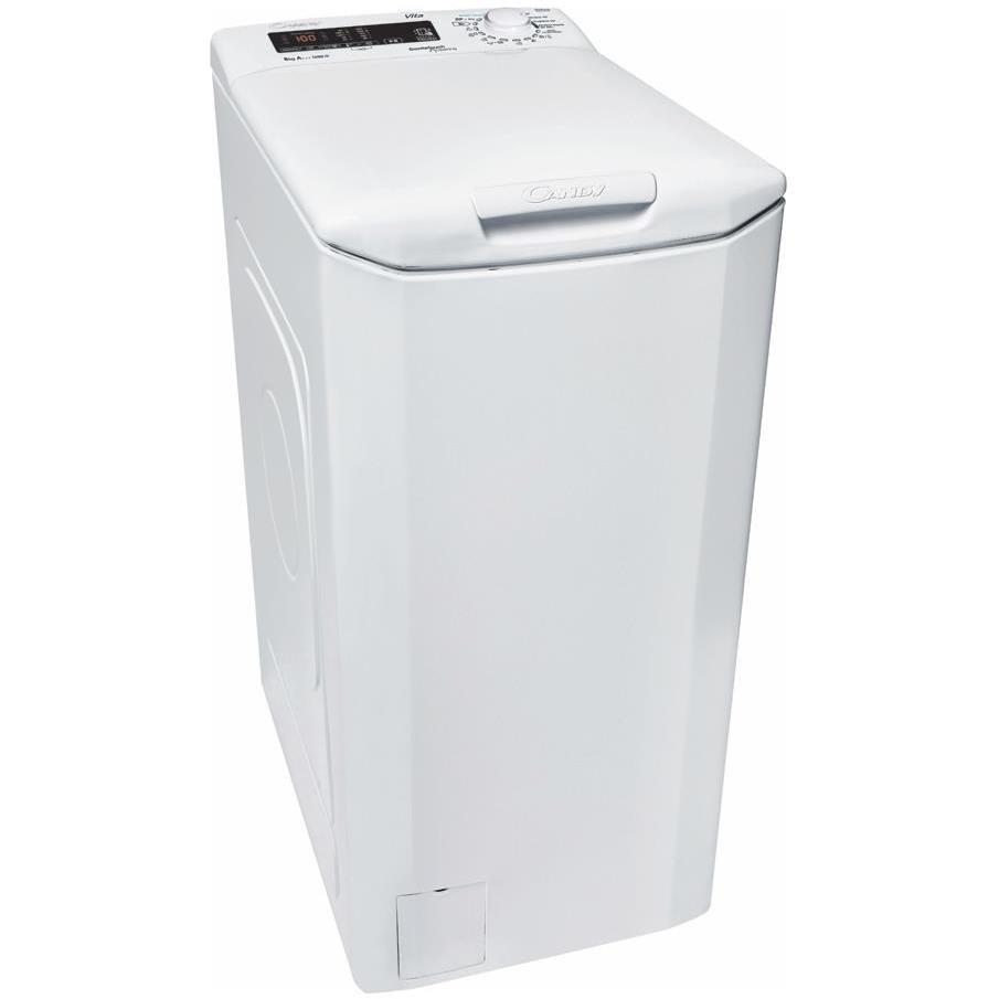 Candy CVST G382DM-S lavatrice carica dall'alto 8 Kg 1200 giri classe A+++ colore bianco