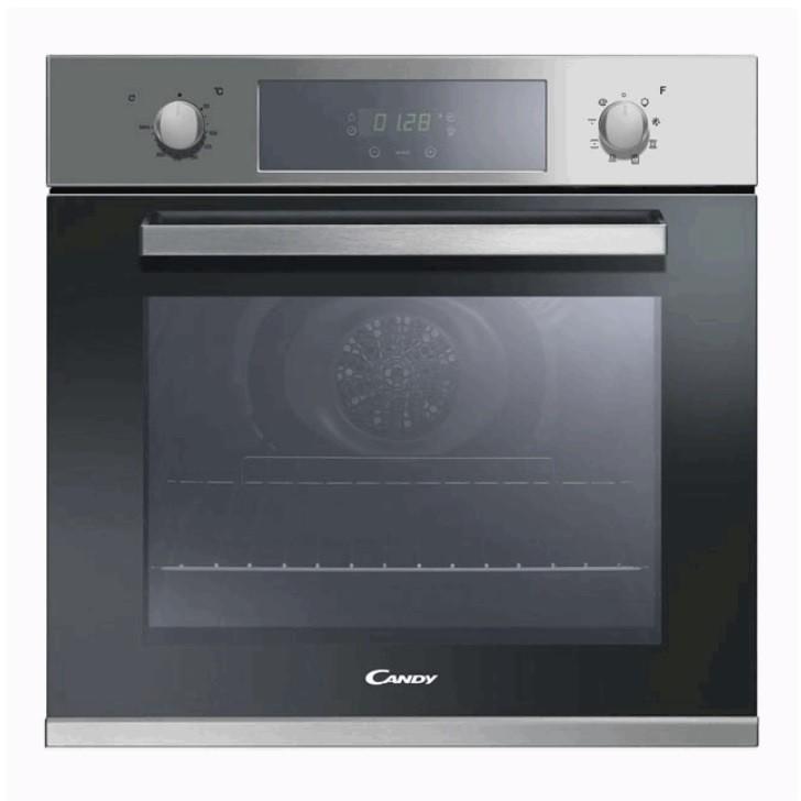 Candy fcp605x forno elettrico ventilato da incasso 65 litri classe a colore inox forni da - Forno elettrico ventilato da incasso prezzi ...