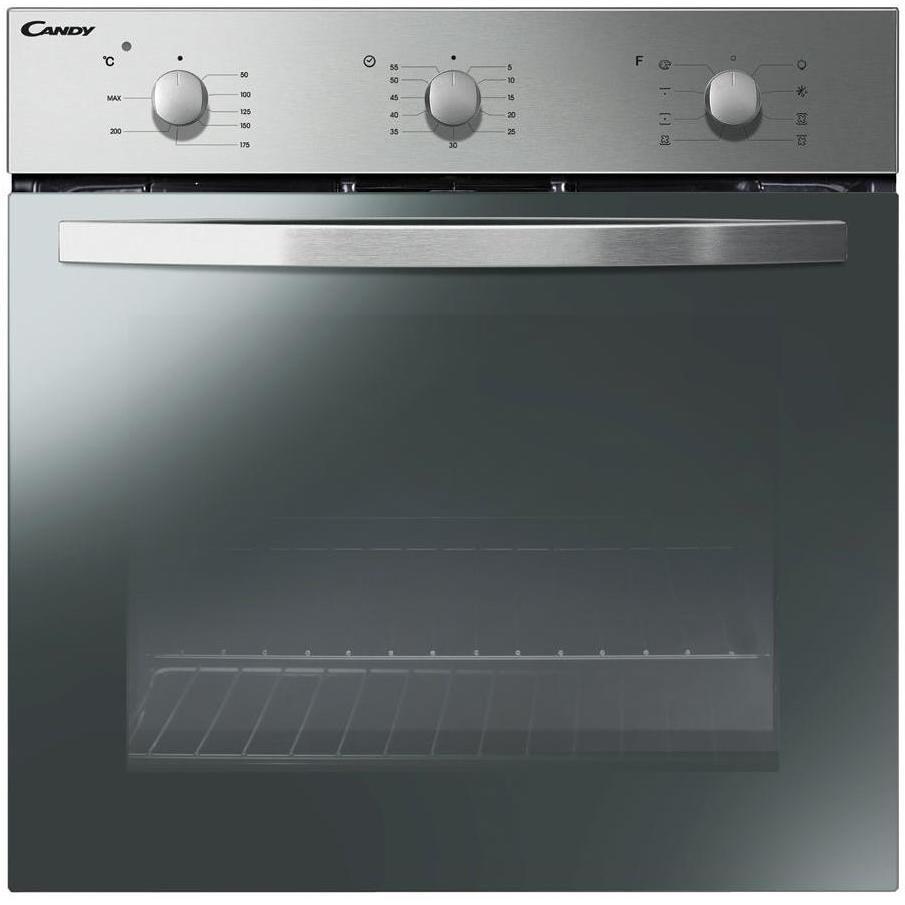 Candy fcs602x forno elettrico da incasso multifunzione capacit 65 litri classe a colore inox - Forno da incasso elettrico ...