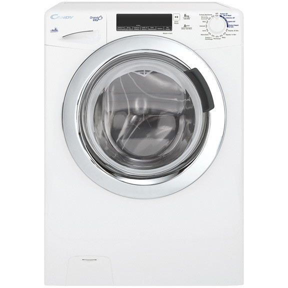Candy GV42 138TWC3-01 lavatrice 42 cm carica frontale 8 Kg 1300 giri classe A+++ colore bianco