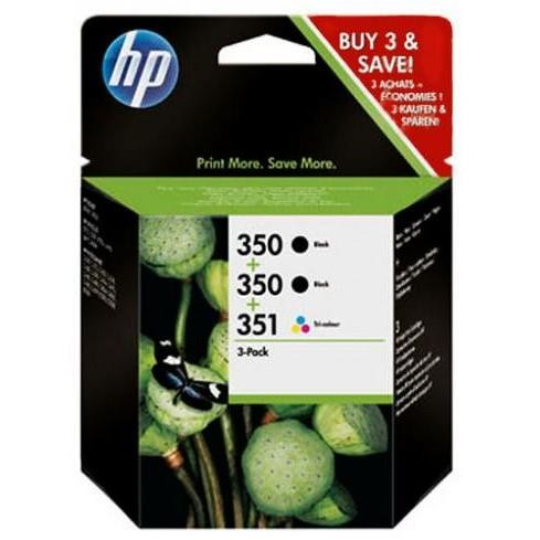 cartucce hp 350/350/351 3pack