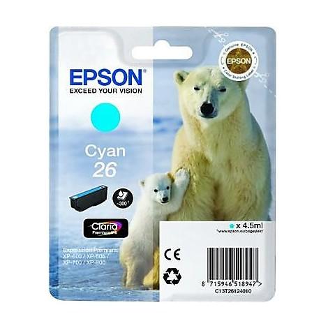 cartuccia ciano  orso polare
