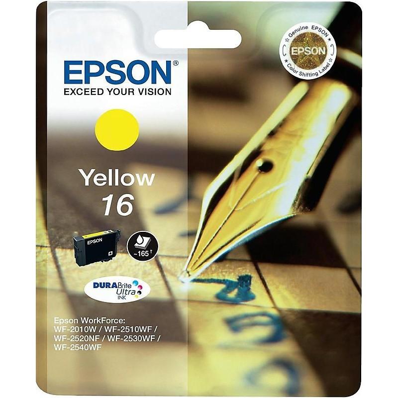 cartuccia giallo 16 penna/cruciverba