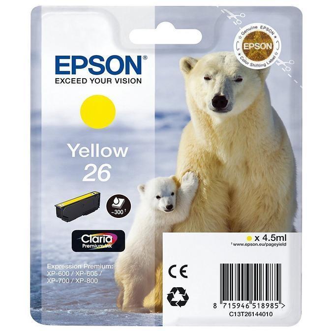 cartuccia giallo  orso polare
