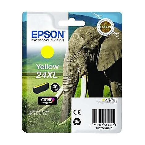 cartuccia giallo serie24xl elefante