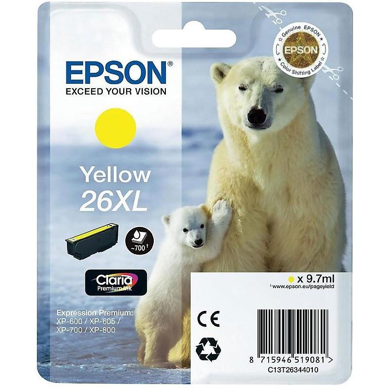 cartuccia giallo  xl orsopolare