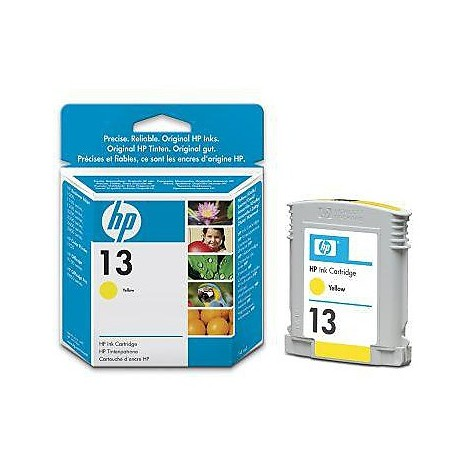 cartuccia ink hp n13 color giallo