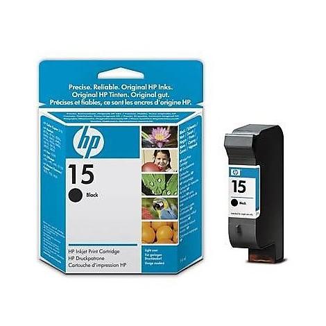 cartuccia ink nero hp n.15 (14ml)