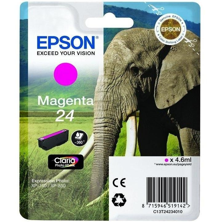 cartuccia magenta elefante xp750