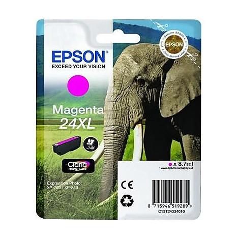 cartuccia magenta serie24xl elefante