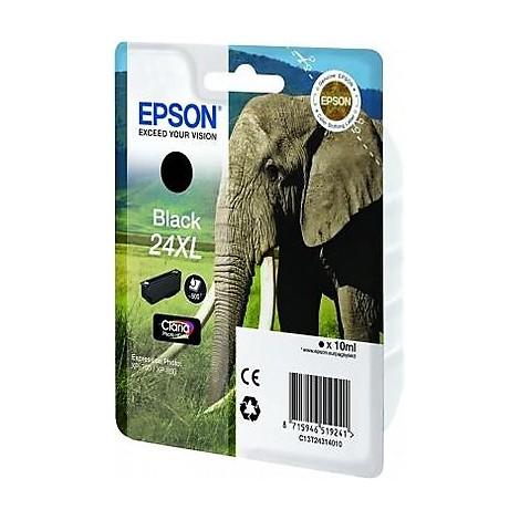 cartuccia nera seria 24xl elefante