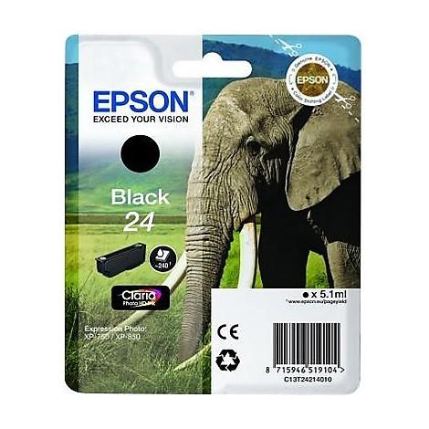 cartuccia nera serie 24 elefante