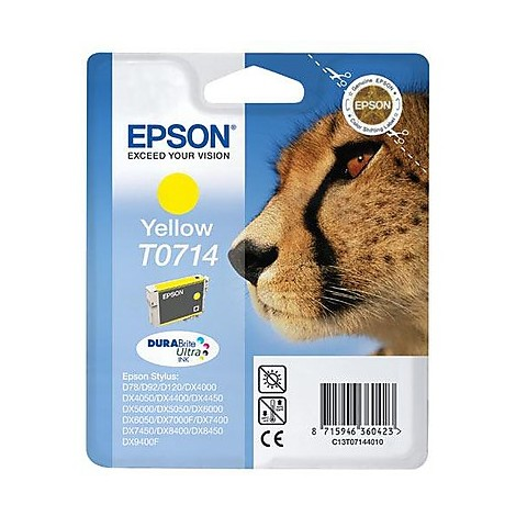 cartuccia x stampante giallo ghepardo c13t07144011 epson