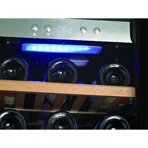 Caso 645 WineMaster 24 cantinetta per vino 24 bottiglie 2 zone classe A inox