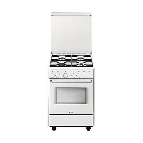 cb-61sv9 smeg cucina 60x60 4 fuochi a gas forno elettrico classe a ...