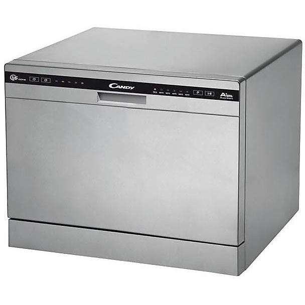 cdcp-6/e-s candy lavastoviglie 6 coperti classe a+ silver
