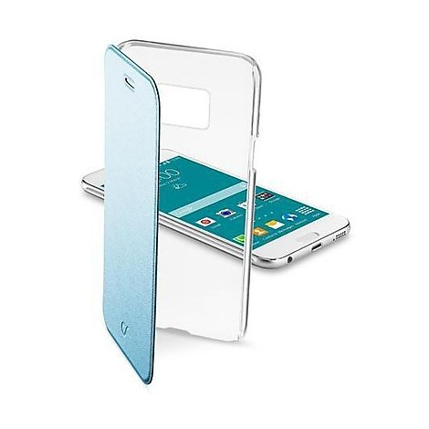 cellular line custodia clear book galaxy s6