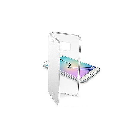 clearbookgals6s custodia clear book galaxy s6 cellular line