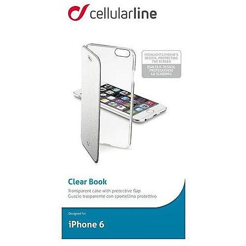 clearbookip647s custodia iphone 6 cellular line