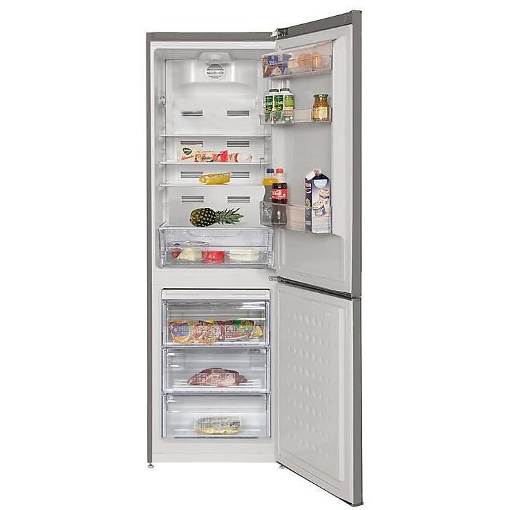 cn-232121t beko frigorifero combinato classe a+ 320 litri 60 cm no frost silver