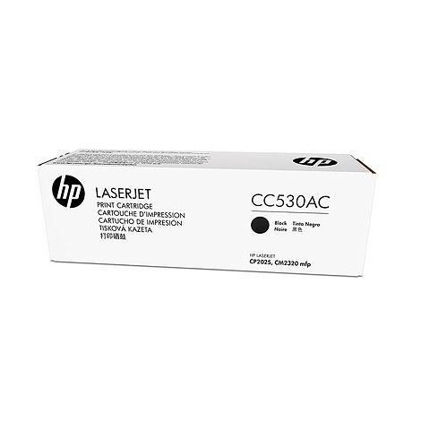 color laserjet cc530a black