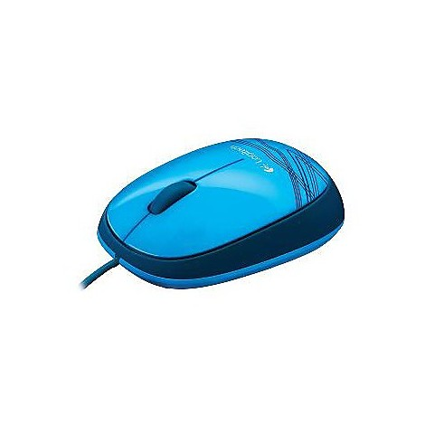 corded mouse m105 blue