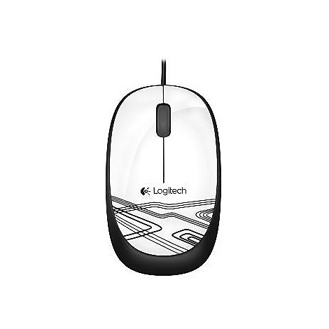 corded mouse m105 white