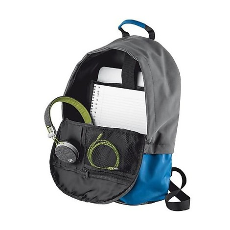 cruz backpack 16 laptop blue/grey