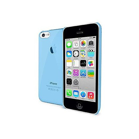 crystal cover iphone 5c light blue