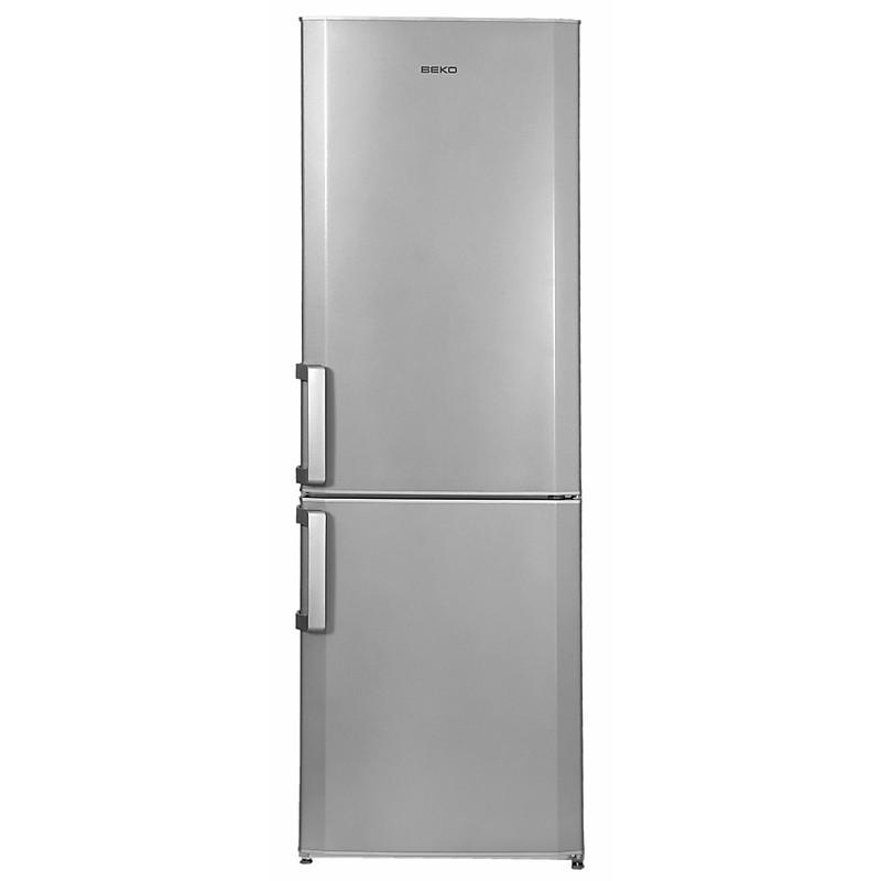 cs-234020s beko frigorifero classe a+ 340 litri 60 cm statico silver