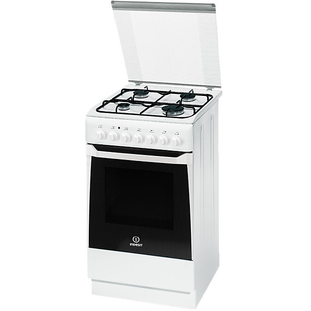 Cucina a gas Indesit kn1g11s(w)/i s 53 L