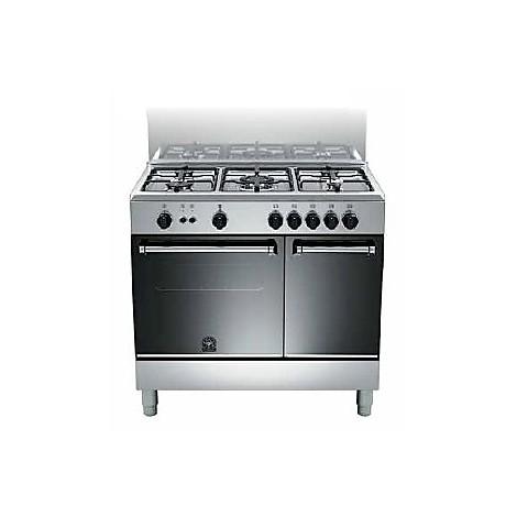 Cucina AMP95C 51DX la germania 90x60 5 fuochi forno elettrico inox