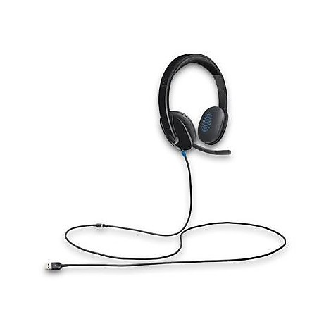 Cuffie + microfono headset h540