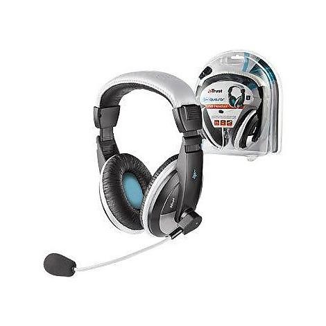 Cuffie + microfono quasar usb headset