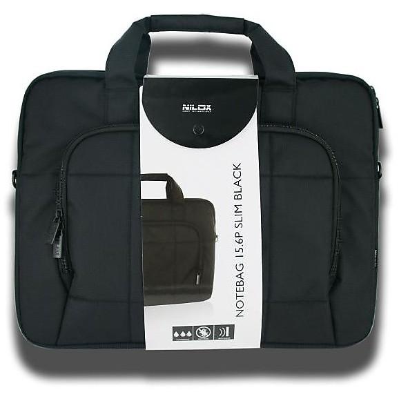 Custodia notebag 15.6p slim black nilox